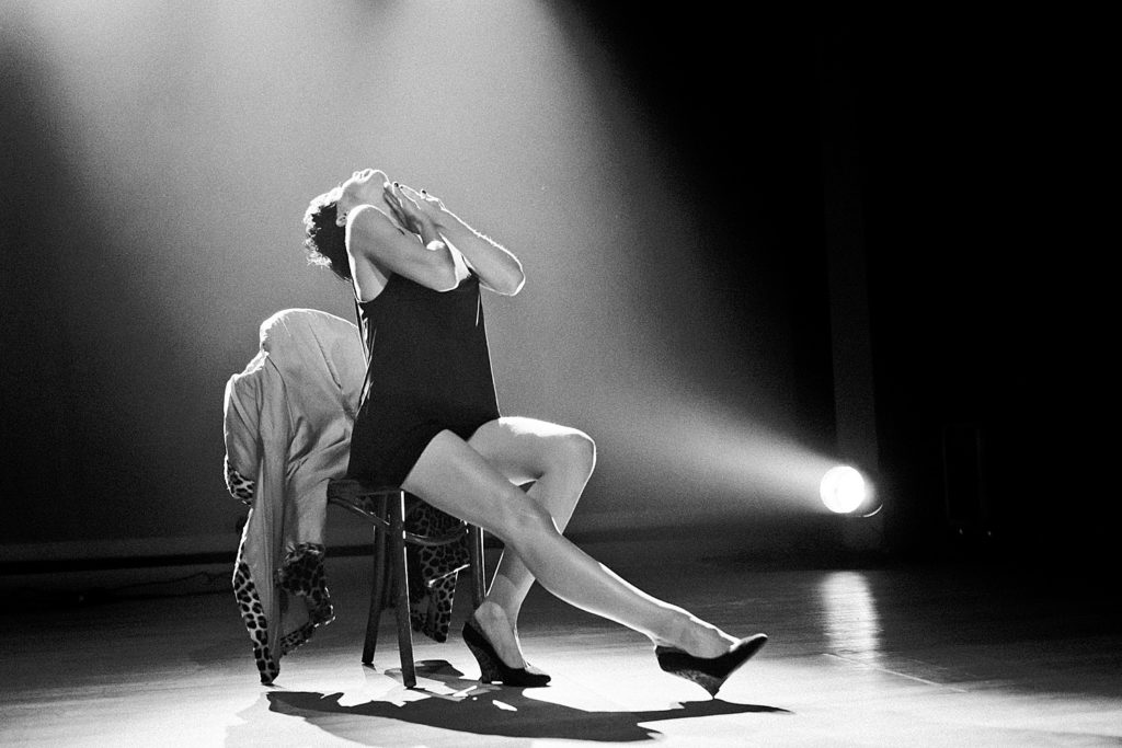 Laurie Hagen at Ghost Handelsbeurs. Photo Eva Vlonk